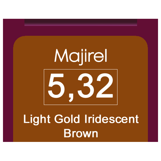 Majirel 5,32 Light Gol Iri Brown