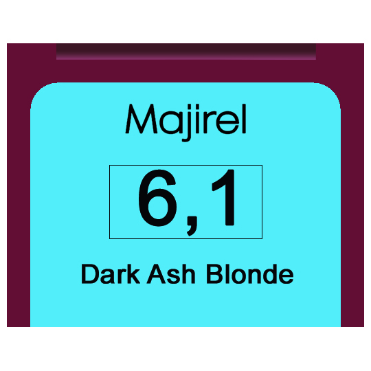Majirel 6,1 Dark Ash Blonde