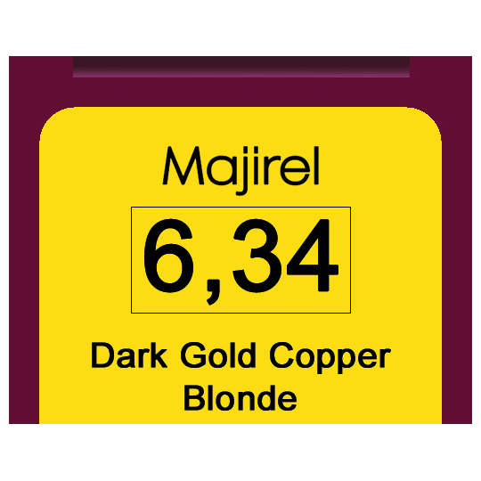 Majirel 6,34 Dark Gol Cop Blonde