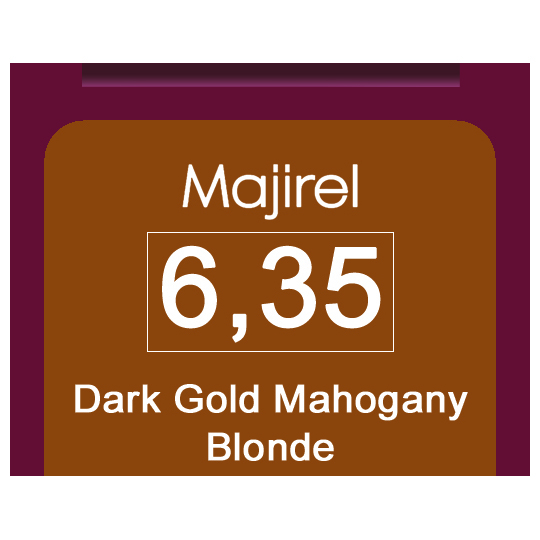 Majirel 6,35 Dark Gol Mah Blonde