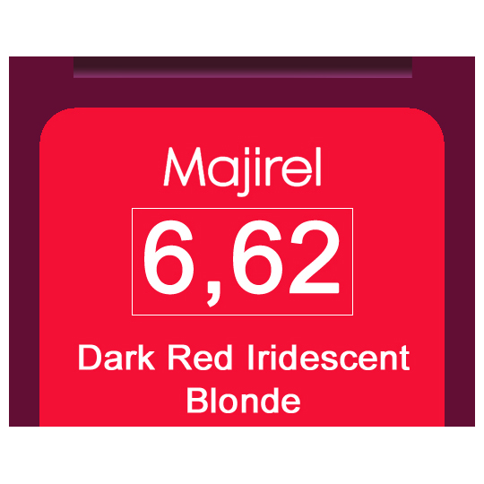 Majirel 6,62 Dark Red Iri Blonde