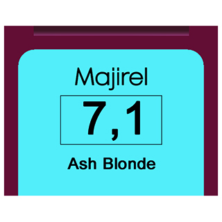 MAJIREL 7,1 ASH BLONDE