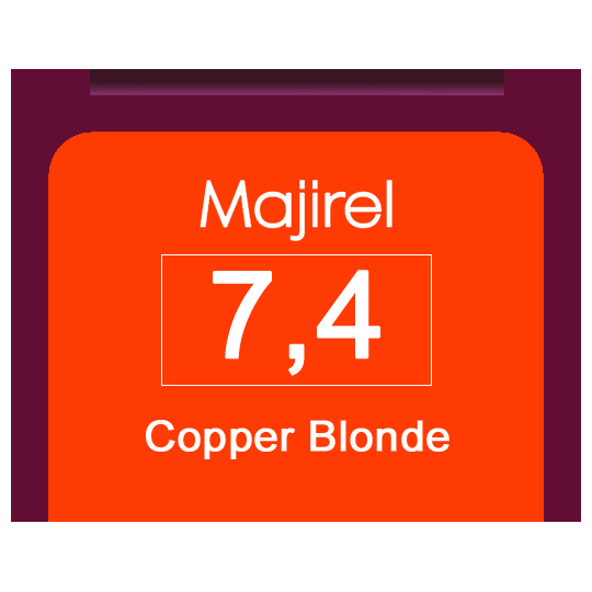 Majirel 7,4 Copper Blonde