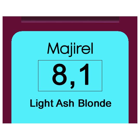 Majirel 8,1 Light Ash Blonde