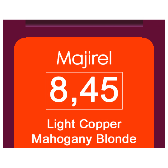 Majirel 8,45 Light Cop Mah Blonde