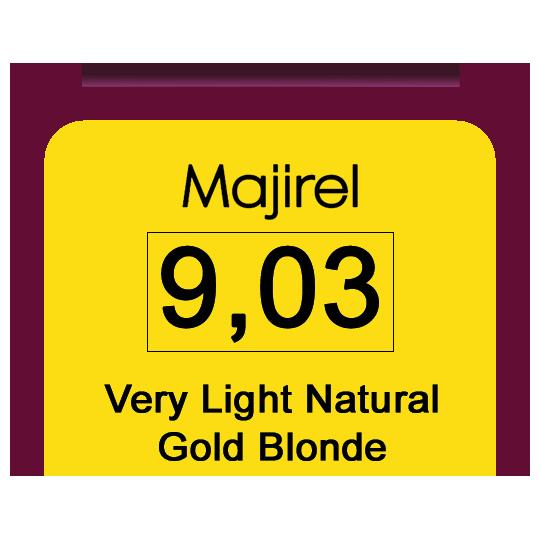 Majirel 9,03 V Light Nat Gol Blonde
