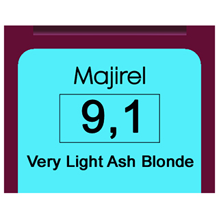 Majirel 9,1 V Light Ash Blonde
