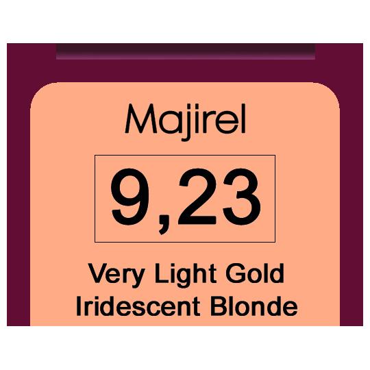 Majirel 9,23 Very Light Gold Iridescent Blond