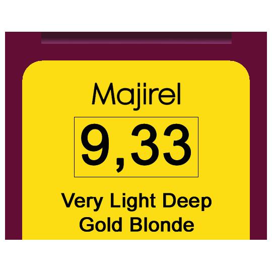 Majirel 9,33 V Light Deep Gol Blonde
