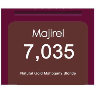 * Majirel French Brown 7,035 Natural Gold Mahogany Blonde