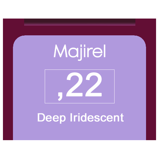 Majirel Metals M,22 Hi-Lilac (Deep Iridescent) 50ml