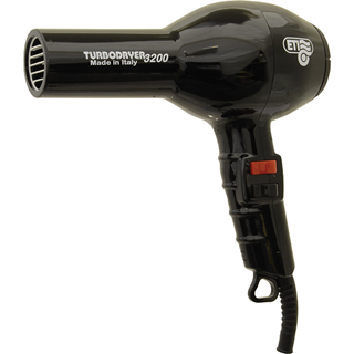 ETI 3200 TURBO HAIRDRYER BLACK