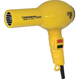 ETI 3200 TURBO HAIRDRYER YELLOW