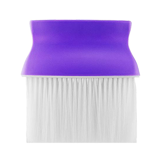 Barber Neck Brush Purple