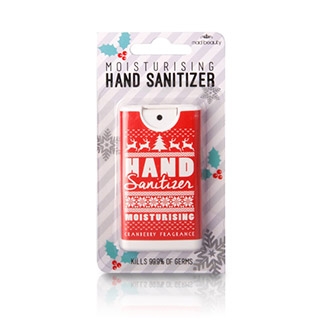 MAD BEAUTY HAND SANITIZER RED XMAS JUMPER