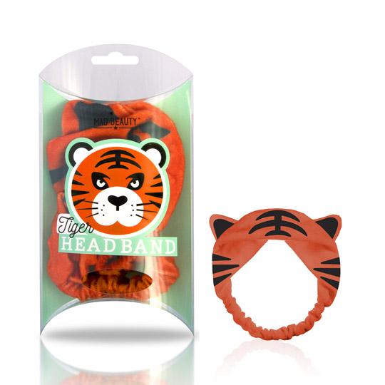 Mad Beauty Animal Headband - Tiger