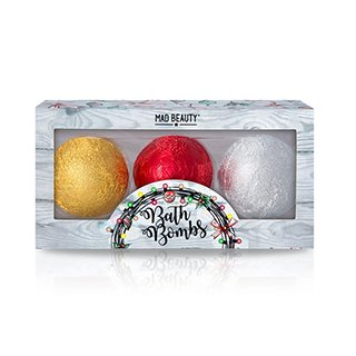 MAD CHRISTMAS LIGHTS BATH BOMB TRIO