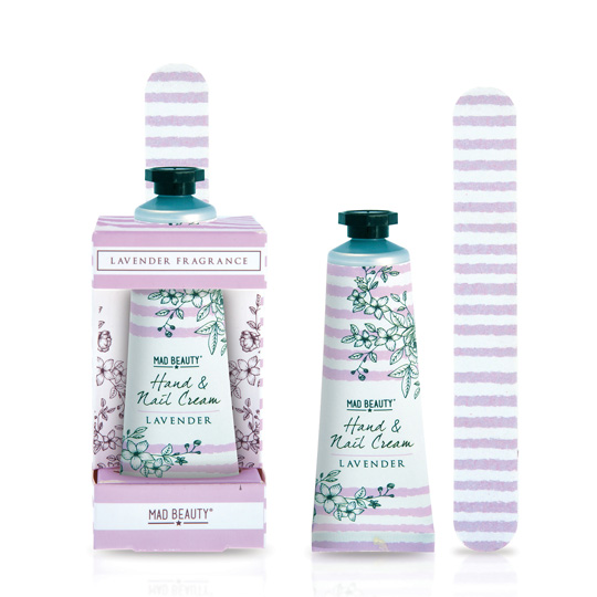 Mad Beauty In Bloom Lilac / Lavender Hand & Nail Set