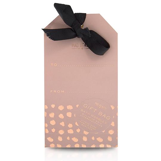 Mad Splash of Gold Bath Marbles Gift Bag (8pc)