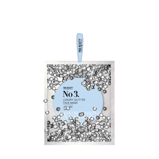 Mad Beauty Silver Sequin Bag - Body Butter