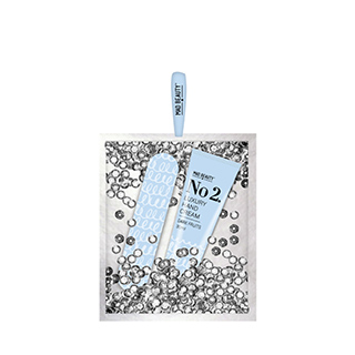 Mad Beauty Silver Sequin bag - Hand Care