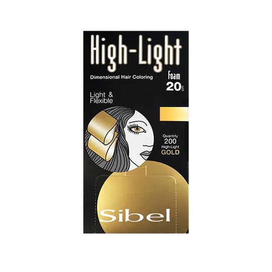 Sibel Hi-Lite Gold Foam Wraps 20 cm