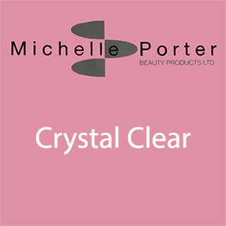 MICHELLE PORTER CRYSTAL CLEAR TIPS SIZE 10 PACK 50