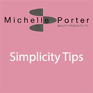 MICHELLE PORTER SIMPLICITY TIPS SIZE 2 PACK 50