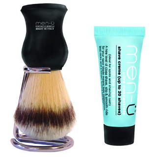 MEN-U PREMIER SHAVING BRUSH BLACK