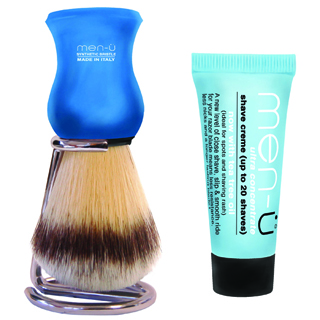 Men-U Premier Shaving Brush Blue
