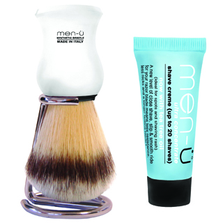 MEN-U PREMIER SHAVING BRUSH WHITE