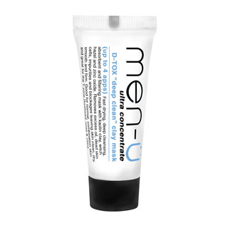 MEN-U D-TOX DEEP CLEAN CLAY MASK 15ML BUDDY
