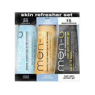 MEN-U SKIN REFRESH SET 3x15ML