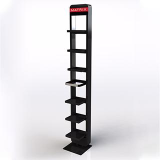 MATRIX BLACK RETAIL STAND
