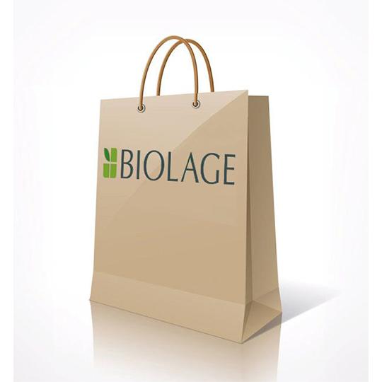 Biolage Paper Retail Bags (Pack of 20)