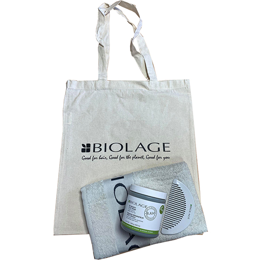 Biolage RAW Re-Bodify Clay Mask Gift Bundle - For Flat, Fine Hair