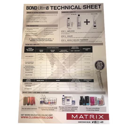 Bond Ultim8 Technical Guide (Wall Chart)