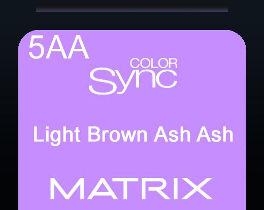 Color Sync 5aa Light Brown Ash Ash 90ml
