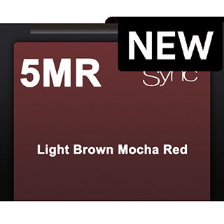New Color Sync 5MR Light Brown Mocha Red 90ml