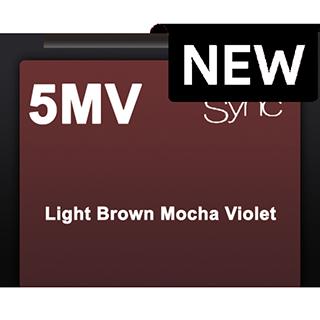 New Color Sync 5MV Light Brown Mocha Violet 90ml