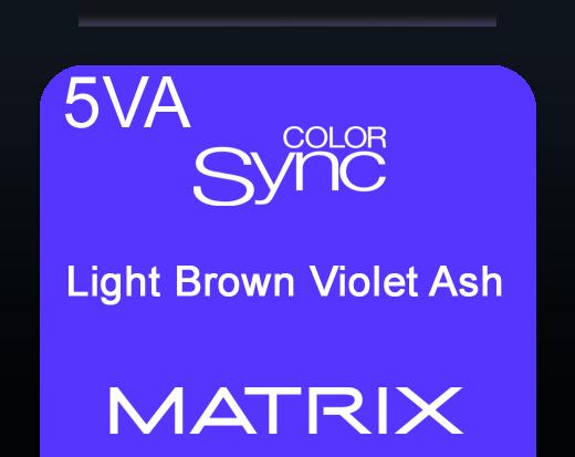 Color Sync 5va Light Brown Violet Ash 90ml