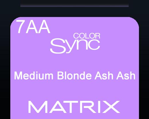 Color Sync 7aa Medium Blonde Ash Ash 90ml
