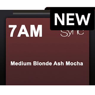 New Color Sync 7AM Medium Blonde Ash Mocha 90ml