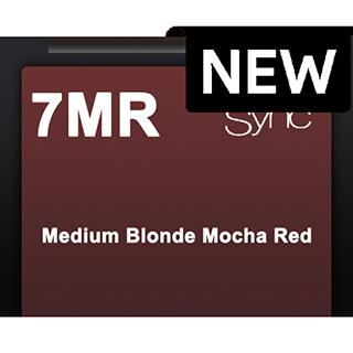 New Color Sync 7MR Medium Blonde Mocha Red 90ml