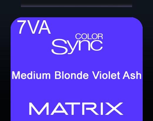Color Sync 7av Medium Blonde Violet Ash 90ml