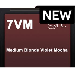 New Color Sync 7VM Medium Blonde Violet Mocha 90ml
