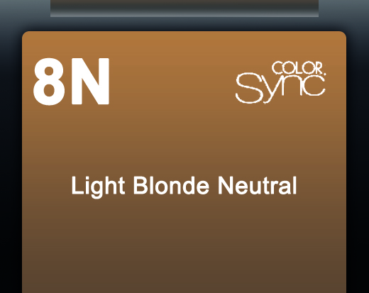 NEW COLOR SYNC 8N 90ML