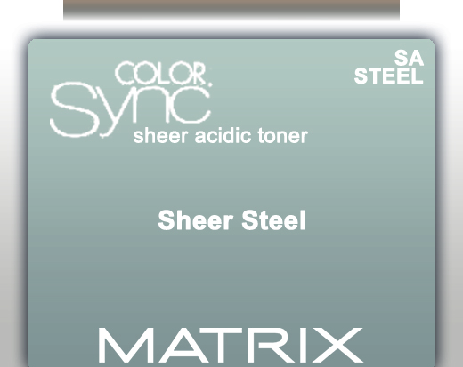 Matrix Color Sync Acid Toner - Sheer Steel 90ml
