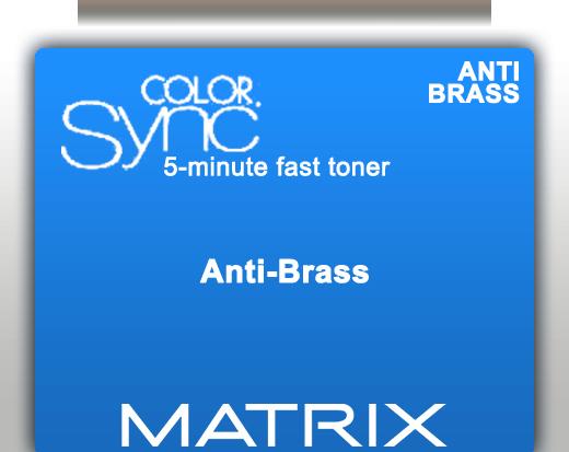 Matrix Color Sync 5 Minute Fast Toner - Anti Brass 90ml