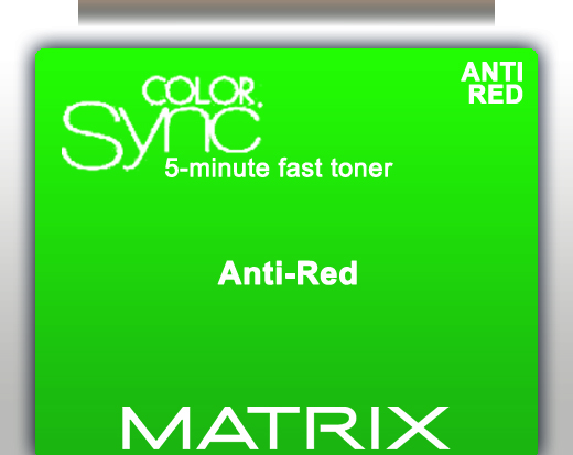 Matrix Color Sync 5 Minute Fast Toner - Anti Red 90ml